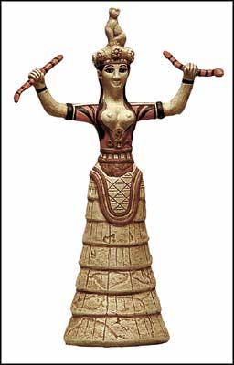 earth goddess with snakes The earth, the goddess of the land, of all of england brigit celtic  a gorgon,  associated with blood, snakes, the moon both sacred and terrible she had the.