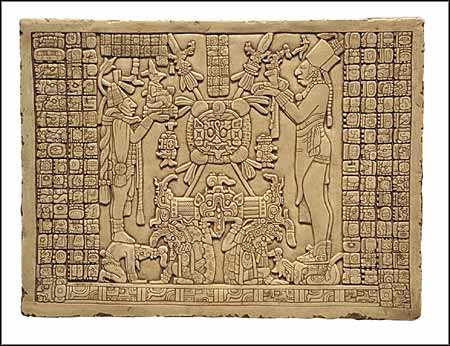 Maya tablet of the Sun, Maya Art, Maya, precolumbian reproductions ...